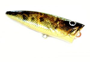 Handmade  Popper Fishing Lure Loud Rattling Floating Predator 8cm 15g Koi