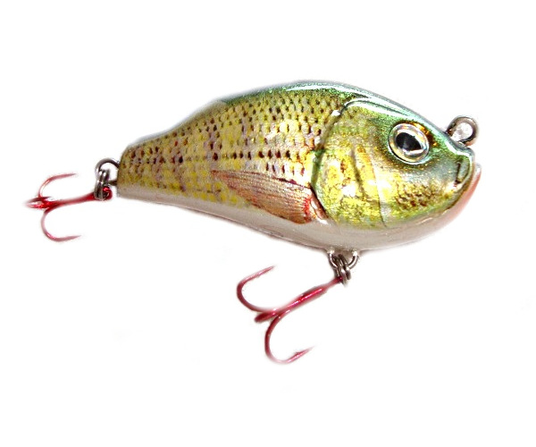 3 x 100% Hand crafted Moby Versa Lipless Crank fishing lure Red