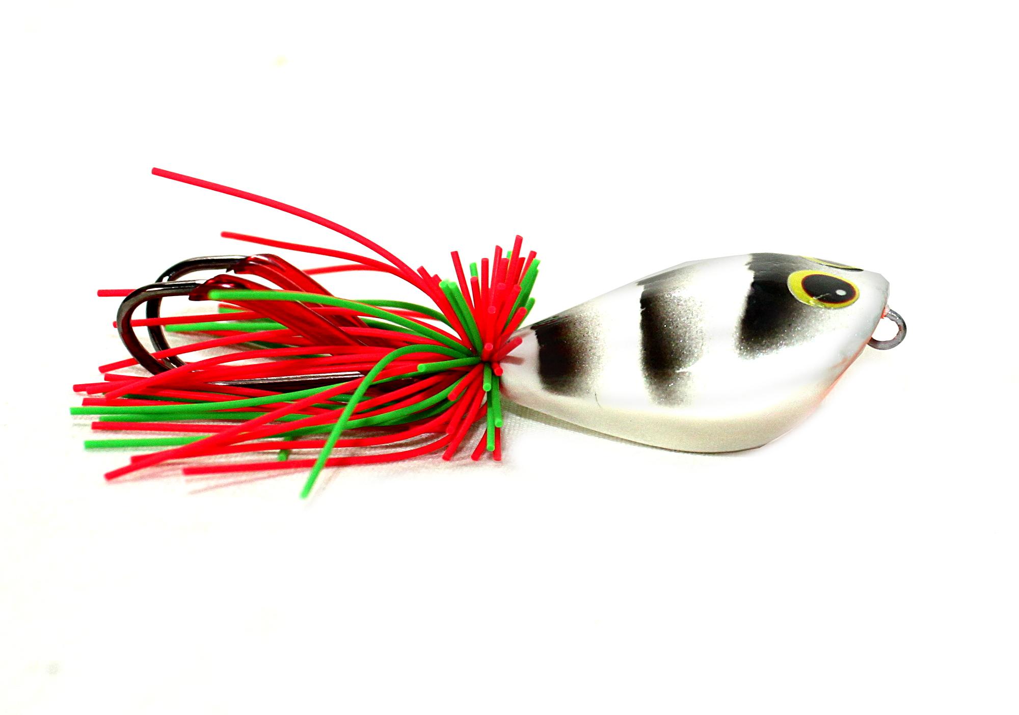 1x 8cm 12g fishing lures hard baits artificial popper crankbait wobblers baiRSPF