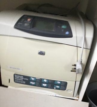 HP LaserJet 4200 Mono printer used but Good Working condition.